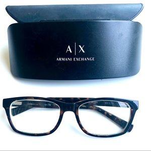 Armani Tortoise Eyeglasses